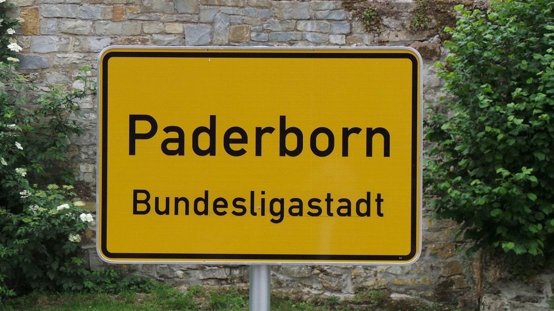 Paderborn Stadtschild