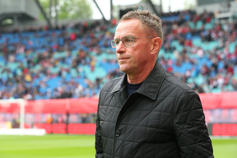 Ralf Rangnick beim Spiel gegen FC Bayern