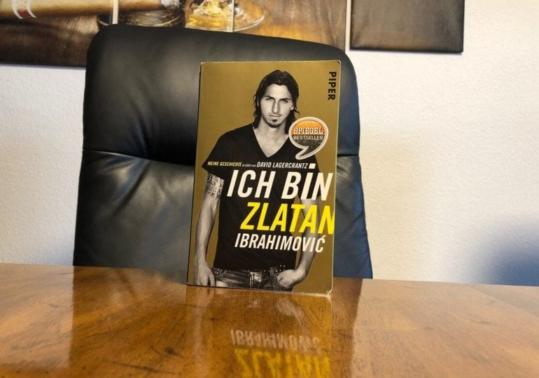 """Fußballbücher #2: """"Ich bin Zlatan Ibrahimovic"""""""