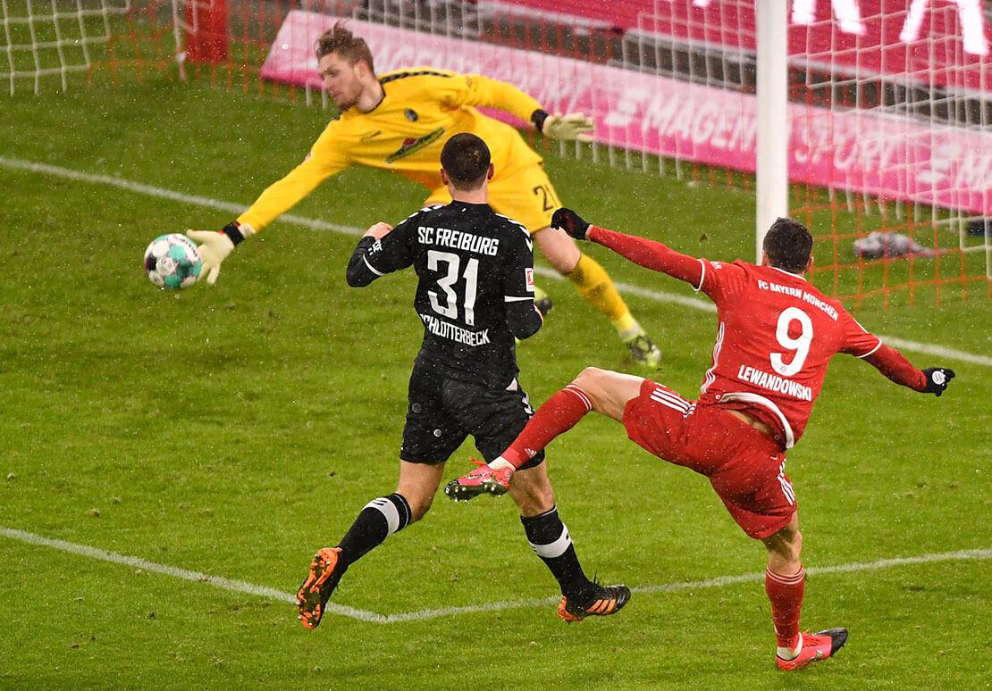 Lewandowski - Freiburg (AFP)