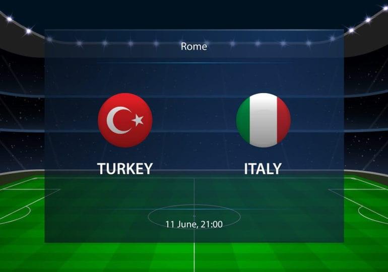 EM Special – Italien gegen Türkei, Vorrunde